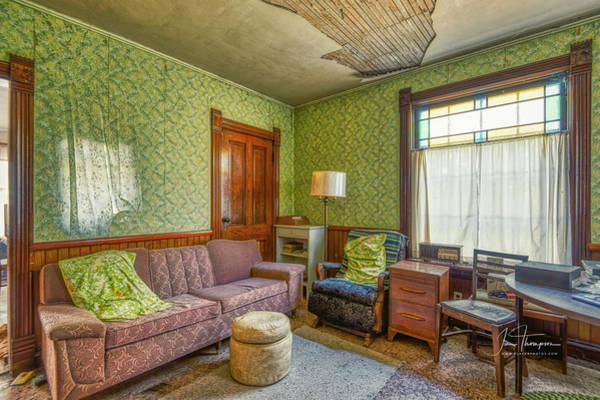 Photograph - The Old Farmhouse Living Room by Jim Thompson