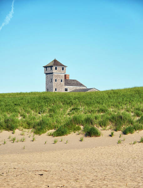 Wall Art - Photograph - The Old Harbor Life Saving Station - Race Point Beach by Brendan Reals