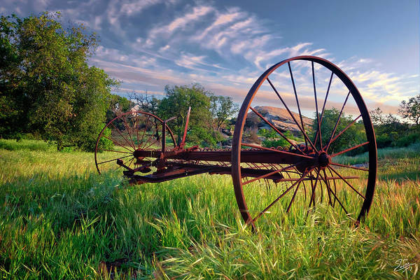 Photograph - The Old Hay Rake 2 by Endre Balogh