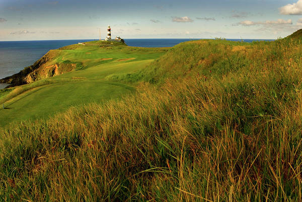 Horizontal Landscape Photograph - The Old Head Golf Links, Kinsale by E J Carr