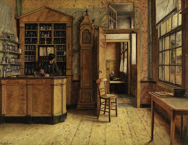 Wall Art - Painting - The Old Inn In Antwerp by Henri De Braekeleer
