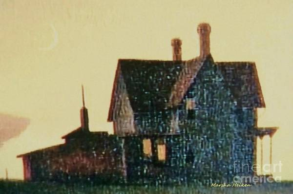 Wall Art - Photograph - The Old Iowa Farmhouse by Marsha Heiken