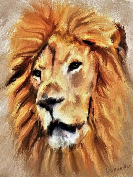 Painting - The Old King by Diane Chandler