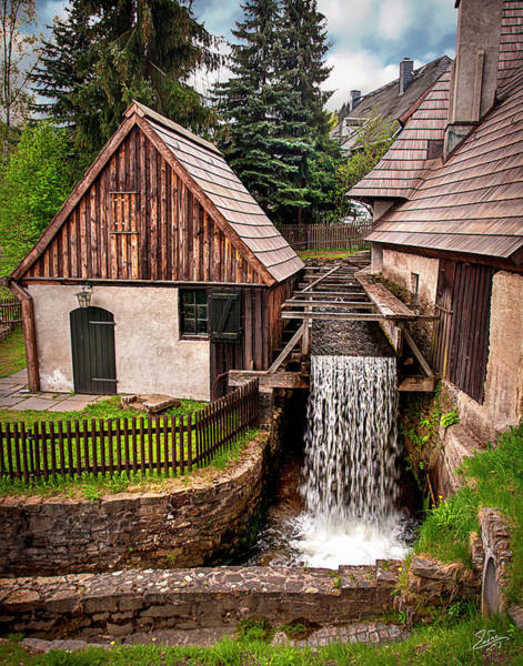 Photograph - The Old Mill by Endre Balogh