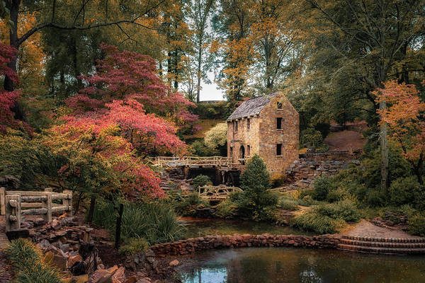 Grist Mill Photograph - The Old Mill by James Barber