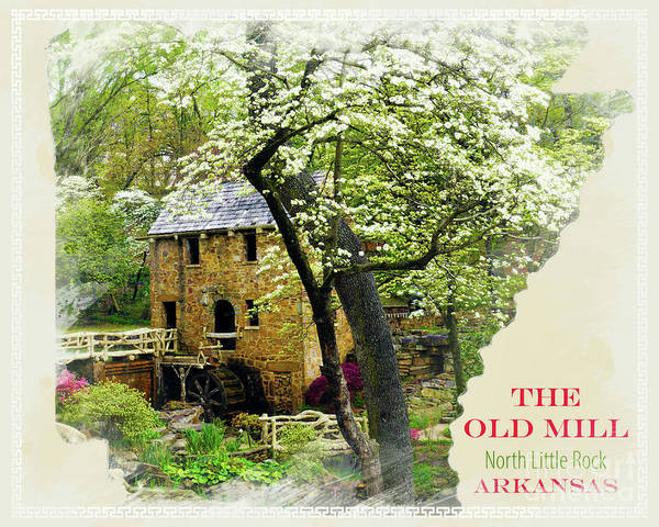 Wall Art - Photograph - The Old Mill Stated by Karen Beasley