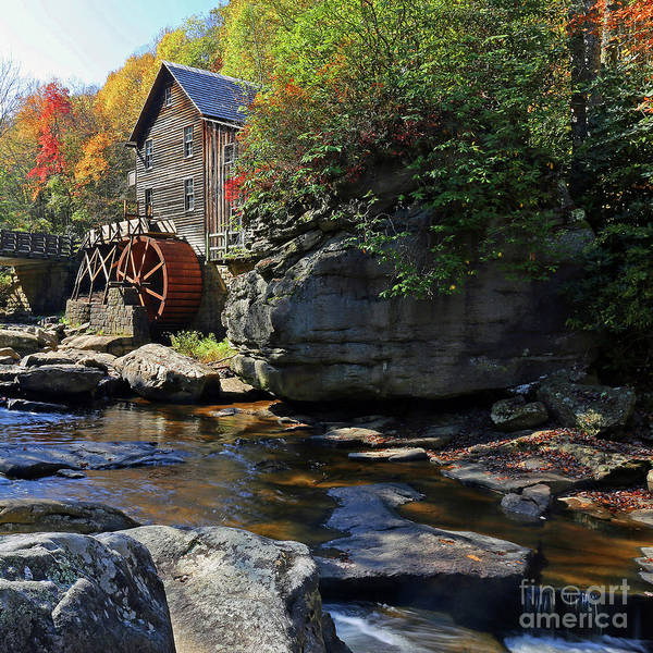 Wall Art - Photograph - The Old Mill by Steve Gass