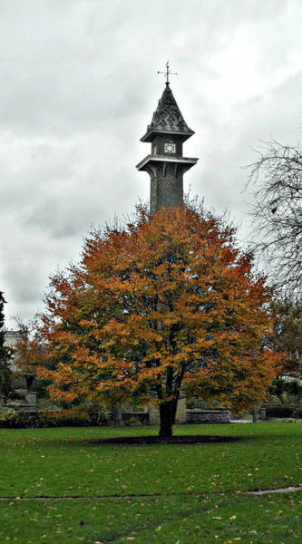 Photograph - The Old Mill Tower by Cyryn Fyrcyd