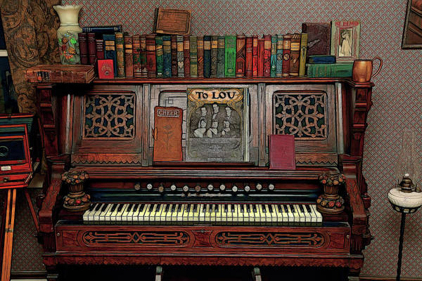 Wall Art - Photograph - The Old Parlor Organ by Mike Flynn