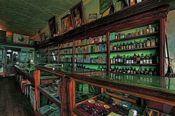 Wall Art - Photograph - The Old Pharmacy by Mike Flynn