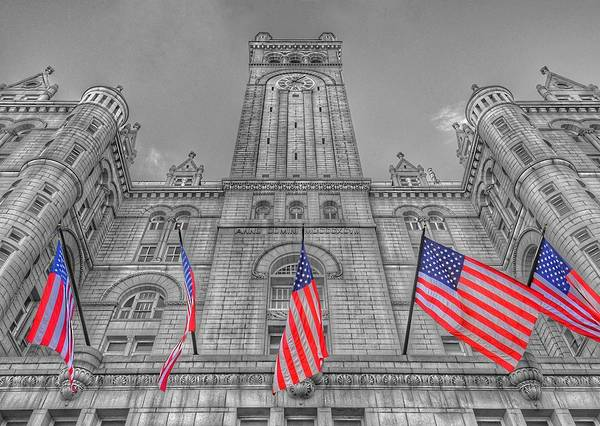 Photograph - The Old Post Office Now Trump International Hotel In Washington D.c. by Marianna Mills