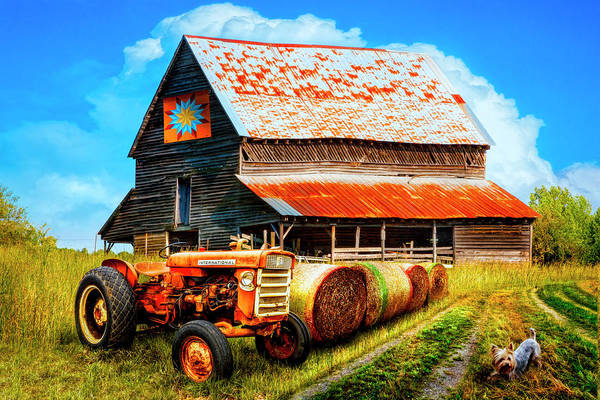 Wall Art - Photograph - The Old Quilt Barn by Debra and Dave Vanderlaan