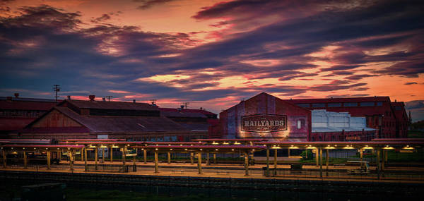 Photograph - The Old Railyards by Janet Kopper