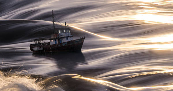 Wall Art - Photograph - The Old Ship And The Sea by Adrian Borda
