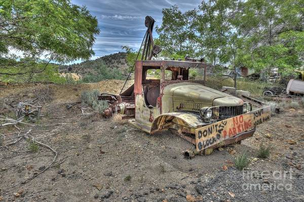 Wall Art - Photograph - The Old Tow Truck That Could by Thomas Todd