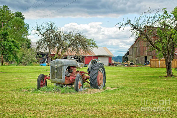 Photograph - The Old Tractor by Craig Leaper