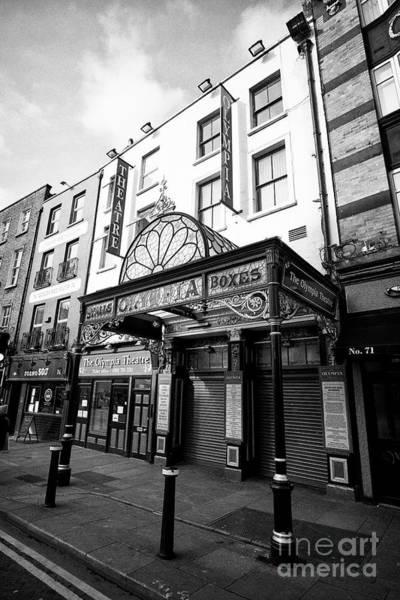 Wall Art - Photograph - The Olympia Theatre Dame Street Dublin Republic Of Ireland Europe by Joe Fox