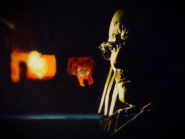 Painting - The One Who Knocks by Joel Tesch