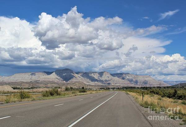 Photograph - The Open Road by Tammie J Jordan