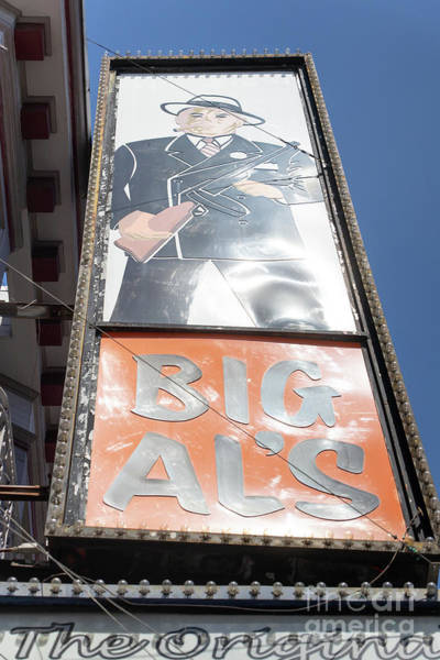 Photograph - The Original Big Als Adult Strip Clubs On Broadway San Francisco R709 by Wingsdomain Art and Photography