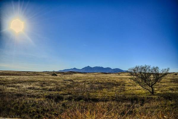 Photograph - The Other Side Of The Santa Rita Mountains by Chance Kafka