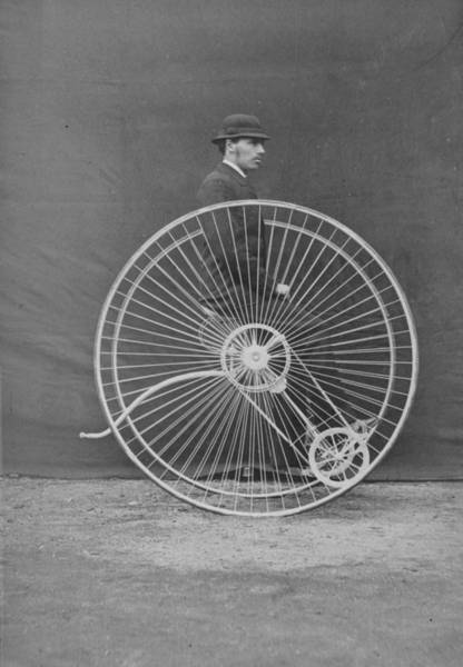 Pedal Wall Art - Photograph - The Otto Bike by Hulton Archive