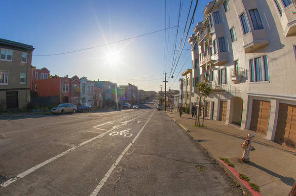 Wall Art - Photograph - The Outer Richmond In San Francisco With In The Background Under by Kim Vermaat