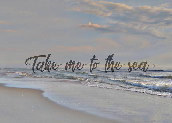 Photograph - The Outerbanks Quote by Jamart Photography