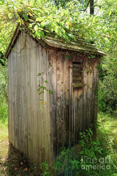 Wall Art - Photograph - The Outhouse With Country Charm by Paul Ward
