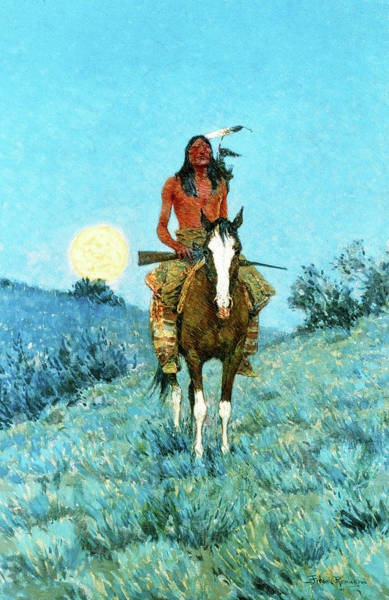 Wall Art - Painting - The Outlier, 1909 by Frederic Remington