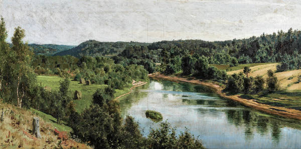 Wall Art - Photograph - The Oyat River by Vasily Polenov