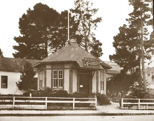 Photograph - The Pacific Grove Museum Was Founded In 1883. by California Views Archives Mr Pat Hathaway Archives