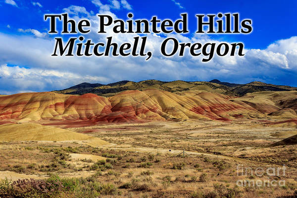 Photograph - The Painted Hills Mitchell Oregon 02 by G Matthew Laughton