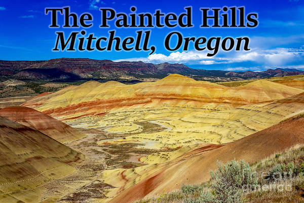 Photograph - The Painted Hills Mitchell Oregon by G Matthew Laughton