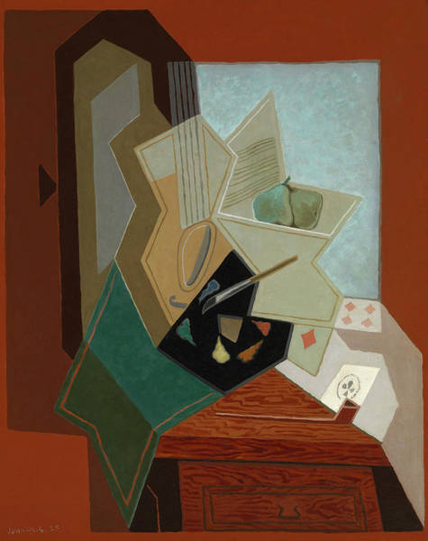 Wall Art - Painting - The Painter's Window, 1925 by Juan Gris