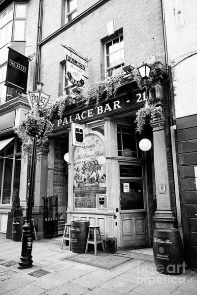 Wall Art - Photograph - The Palace Bar Fleet Street Dublin Republic Of Ireland Europe by Joe Fox