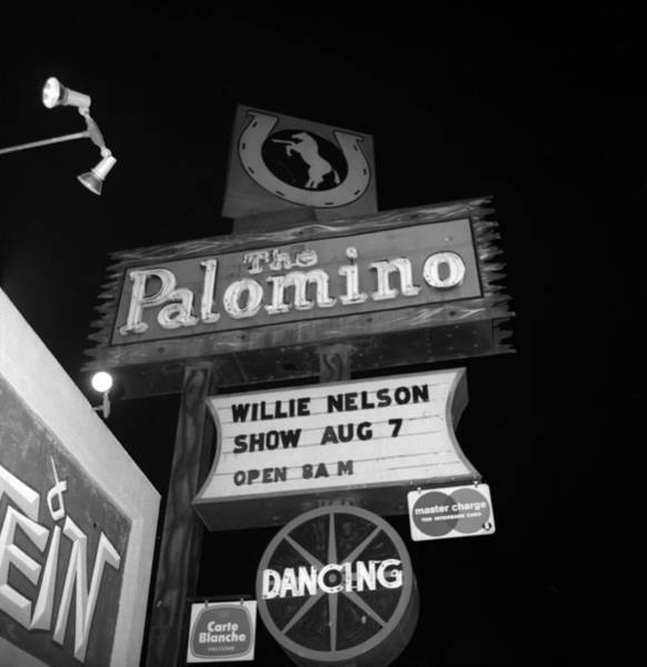Country Music Photograph - The Palomino by Michael Ochs Archives