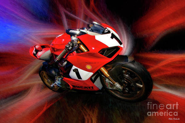 Photograph - The Panigale V4 25 Anniversario 916 by Blake Richards