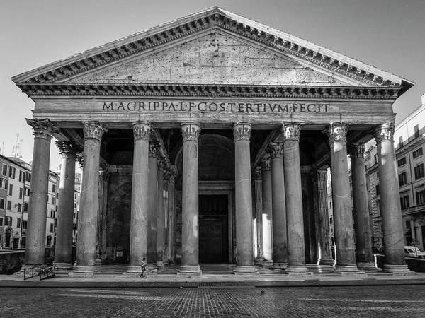 Photograph - The Pantheon by Kyle Wasielewski