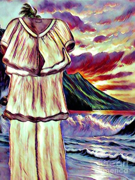Mixed Media - The Pantsuit That Went On Vacation Alone by Debra Lynch