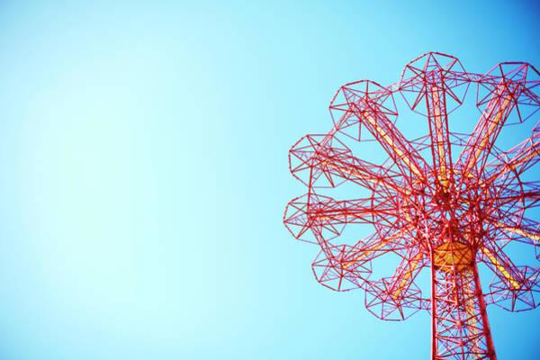 Crisscross Wall Art - Photograph - The Parachute Jump, Coney Island by Thomas Northcut
