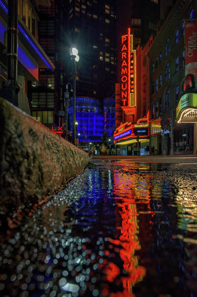 Photograph - The Paramount Theatre by Kristen Wilkinson