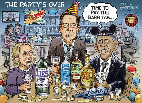 Drawing - The Party's Over by GrrrGraphics ART