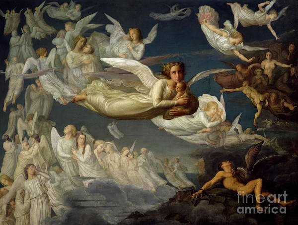 Wall Art - Painting - The Passage Of Souls by Louis Janmot
