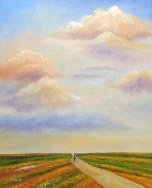 Painting - The Path Defined by Angeles M Pomata