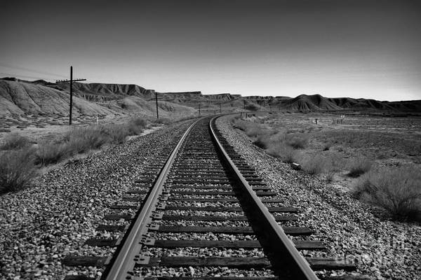 Middle Of Nowhere Photograph -  The Path In Desolation by Jeff Swan