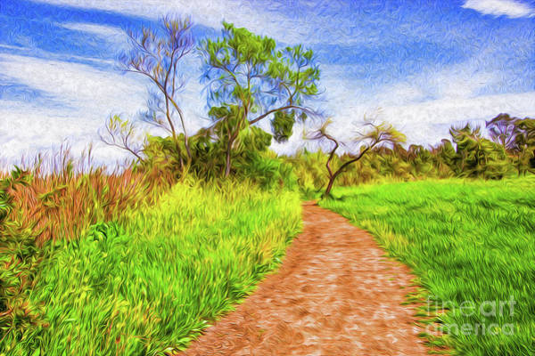 Digital Art - The Path That Lies Ahead II by Kenneth Montgomery