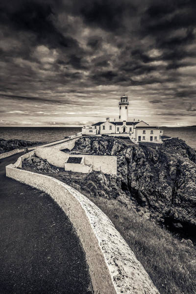 The Path To Fanad Head Lighthouse Art Print