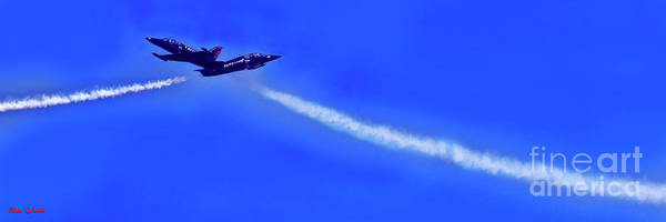 Photograph - The Patriots Jet Team Perfect Timing by Blake Richards
