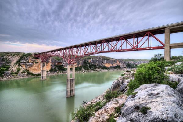 Photograph - The Pecos River Bridge by JC Findley